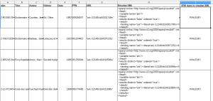 Flux XML - résultat Erreur